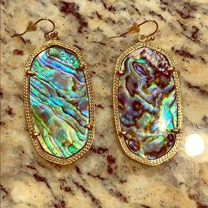 Original Abalone Shell Kendra Scott Earrings